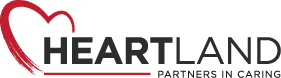Heartland Partners In Caring Logo